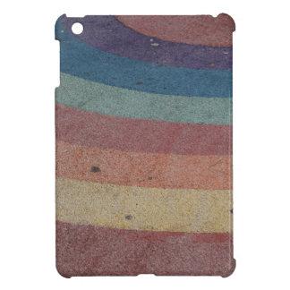 Verblaßte Regenbogen-Strecke iPad Mini Hüllen