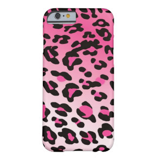 Verblaßte rosa Leopard-Stellen Barely There iPhone 6 Hülle