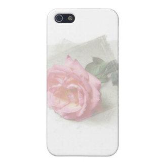 verblaßte Rose iPhone 5 Hüllen
