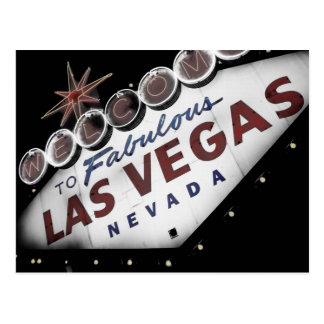 Las Vegas Postkarten