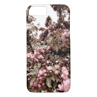 Verblaßter Blumen-Telefon-Kasten iPhone 8/7 Hülle