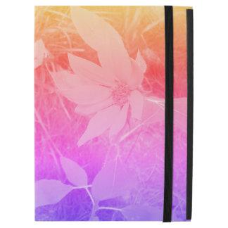 Verblaßter Farbesonnenblume IPad Fall