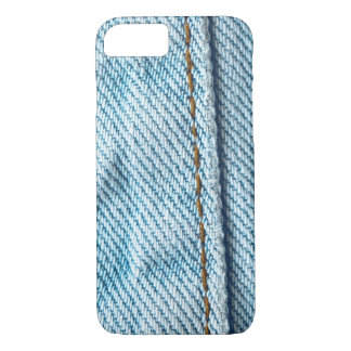 Verblaßtes Blue Jeans-Hosenbein iPhone 7 Hülle