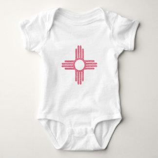 Verblaßtes New Mexiko Baby Strampler