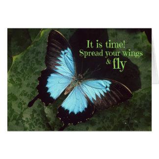 Verbreiten Sie Ihre Flügel und fliegen Sie Karte