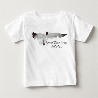 Verbreiten Sie jene Flügel png Baby T-shirt
