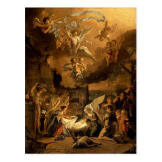 Verehrung des Schäfer-Kunst-Weihnachten Postkarte