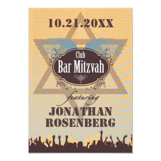 Verein-Bar Mitzvah 12,7 X 17,8 Cm Einladungskarte