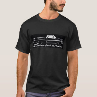Verein EL Camino schwarzen T - Shirt Amerikas