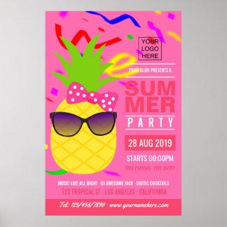 Verein-Sommer-Musik-Festival addieren Logoanzeige Poster