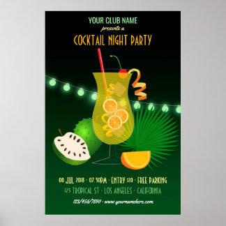 Verein/Unternehmenscocktail-NachtParty Poster