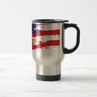 Vereinigte Staaten/amerikanische Stern-Flagge, Reisebecher