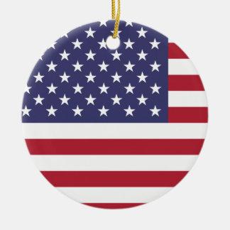 Vereinigte Staaten kennzeichnen Keramik Ornament