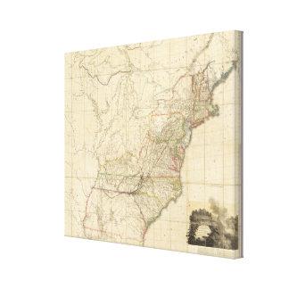 Vereinigte Staaten von Nordamerika 2 Gespannte Galeriedrucke