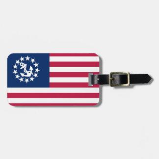 Vereinigte Staaten Yacht Flaggen-Gepäckanhänger Kofferanhänger