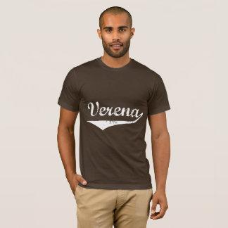 Verena Schriftzug Weiß T-Shirt