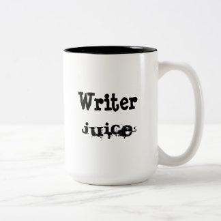 Verfasser-Saft Zweifarbige Tasse