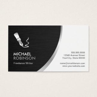 Verfasser-Stift-Logo - modernes berufliches Visitenkarten
