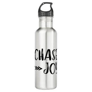 Verfolgungs-Freude-Wasser-Flasche Edelstahlflasche