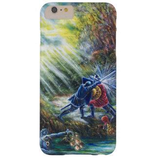 VERGESSENE ROSE kämpfende Ritter, Geld und Teufel Barely There iPhone 6 Plus Hülle