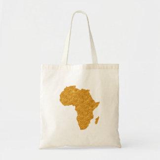 Vergoldet Afrika Budget Stoffbeutel