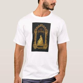 Vergoldetes Bucheinband-Antiken-jüdisches T-Shirt