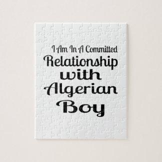 Verhältnis zum algerischen Jungen Puzzle