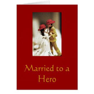 Verheiratet zu einem Held Karte