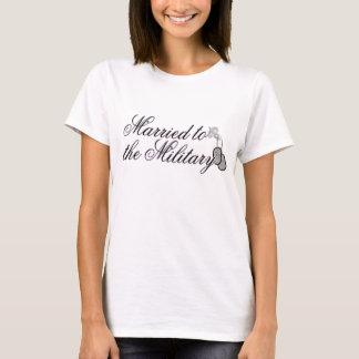 Verheiratet zum Militär T-Shirt