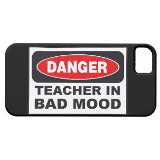VERKAUF - Gefahr! Lehrer in schlechtem Stimmung Hülle Fürs iPhone 5
