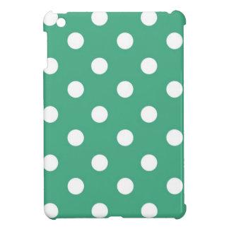 VERKAUF - iPad Mini - WEISSE TUPFEN AUF GRÜN iPad Mini Schale