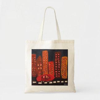 """""""Verlassen Sie eine Stadt"""" kleine Tasche"""