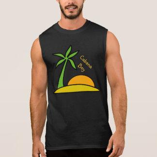 Verlassene tropische Insel Ärmelloses Shirt