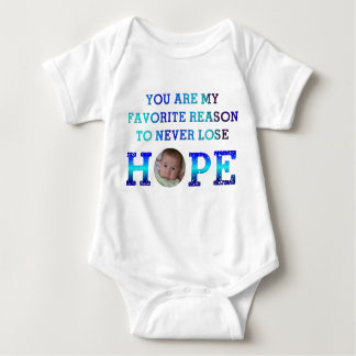 Verlieren Sie nie Hoffnung - Andy Baby Strampler