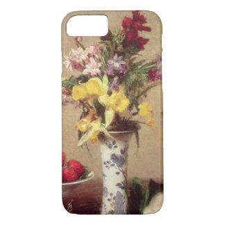 Verlobungs-Blumenstrauß iPhone 8/7 Hülle