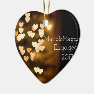 Verlobungs-Verzierung Keramik Ornament