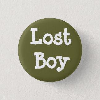Verlorener Junge Runder Button 3,2 Cm