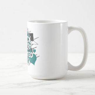 Vermächtnis-Beifall-Graffiti-Entwurf Kaffeetasse