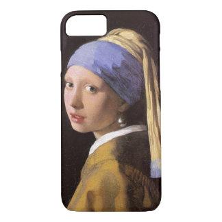 Vermeer Mädchen mit dem Perlen-Ohrring iPhone 8/7 Hülle