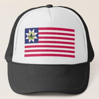 Vermont-Flaggen-T - Shirts (1837-1923) Truckerkappe