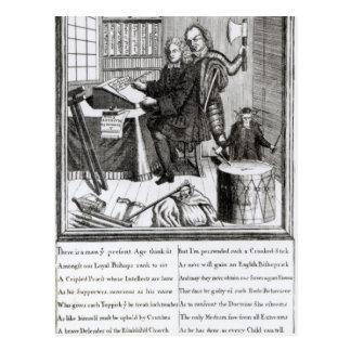 Vermutung an meiner Bedeutung, 1709 Postkarte