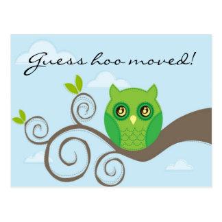 Vermutung hoo bewegt! Art 2 Postkarte