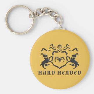 Vernünftiges heraldisches RAM Keychain Schlüsselanhänger