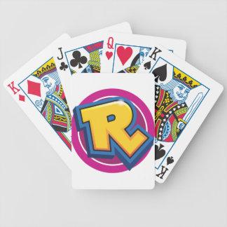 Verringerter Bruch Poker Karten