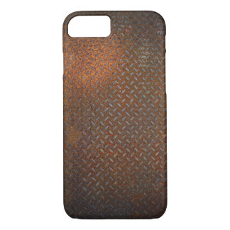 Verrosteter Karo-Platte iPhone 7 Fall iPhone 8/7 Hülle