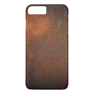 Verrosteter Karo-Platte iPhone 7 Plusfall iPhone 8 Plus/7 Plus Hülle