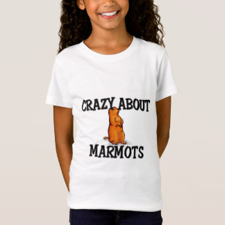 Verrückt über Murmeltiere T-Shirt