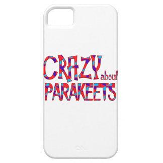 Verrückt über Parakeets iPhone 5 Hülle