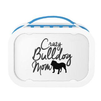 Verrückte Bulldoggen-Mamma Brotdose