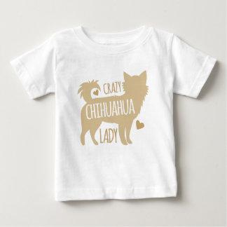 verrückte Chihuahuadame Baby T-shirt
